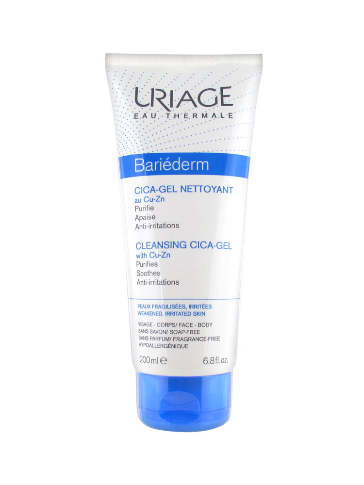Uriage-Bariederm-Cleansing-Cica-Gel-200-ML-kuwait-online