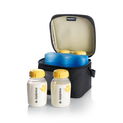 medela-cooler-bag-with-four-breastmilk-bottles-one-cooling-element-bottles-kuwait-online