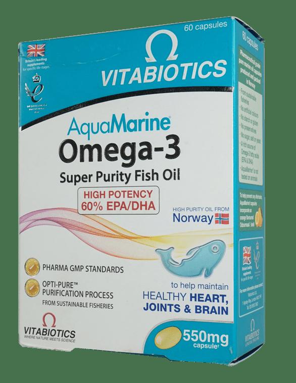 vitabiotics-aquamarine-omega-3-60-capsules-kuwait-online