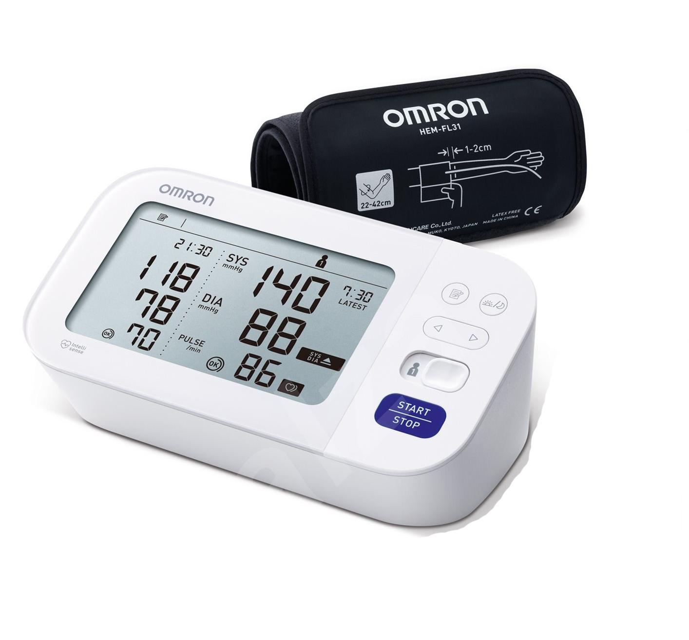 Omron Blood Pressure Monitor M6 COMFORT (HEM-7360-E)