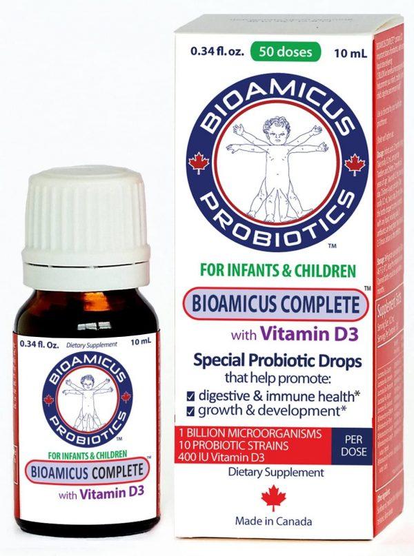 Bioamicus Probiotics for inafants and children