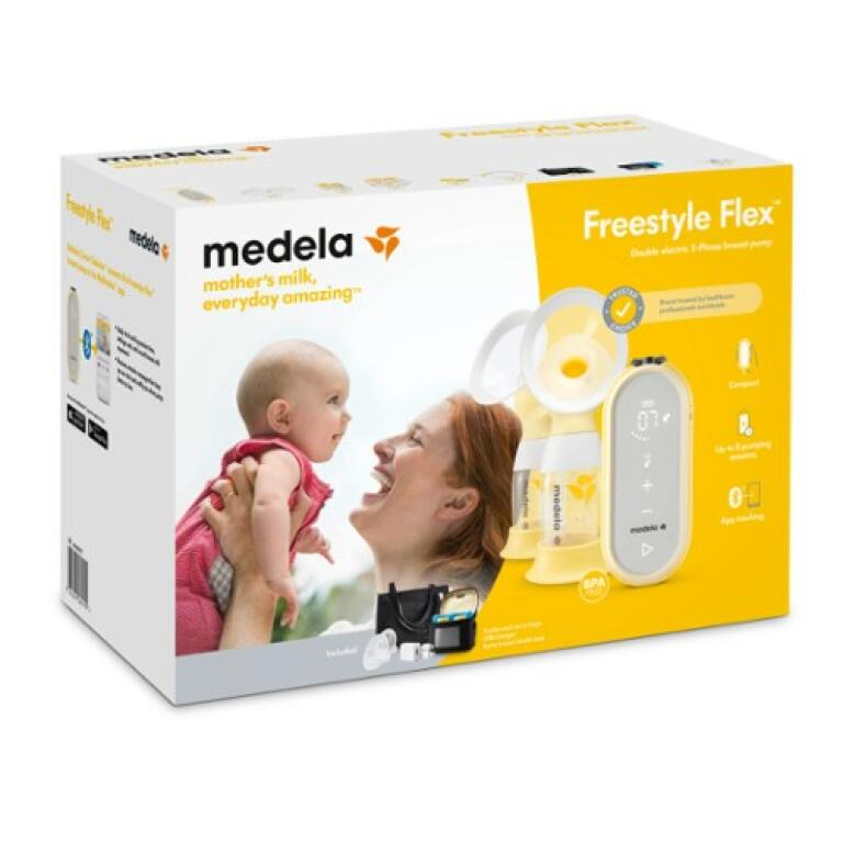 medela-freestyle-flex-2-phase-double-electric-breast-pump-kuwait-online